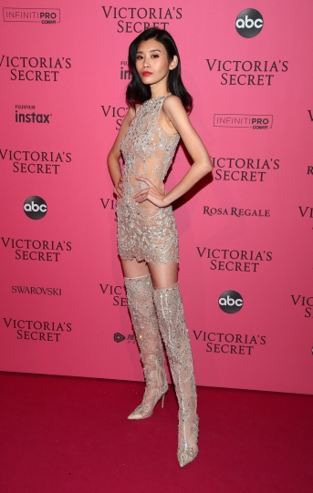 NEW YORK, NY - NOVEMBER 08: Ming Xi attends the 2018 Victoria's Secret Fashion Show After Party on November 8, 2018 in New York City. (Photo by Astrid Stawiarz/Getty Images for Victoria's Secret)