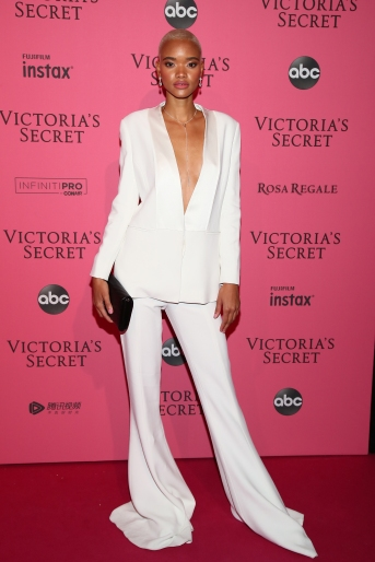 NEW YORK, NY - NOVEMBER 08: Iesha Hodges attends the 2018 Victoria's Secret Fashion Show After Party on November 8, 2018 in New York City. (Photo by Astrid Stawiarz/Getty Images for Victoria's Secret)